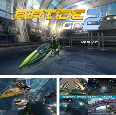 In addition to the game Walking dead zombies: The town of advanced assault warfare for iPhone, iPad or iPod, you can also download Riptide GP2 for free.