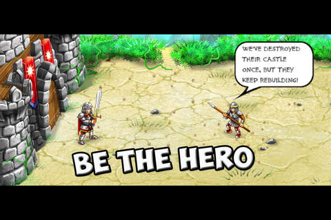 Download Rise of heroes iPhone free game.