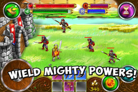 Free Rise of heroes download for iPhone, iPad and iPod.