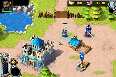 Écrans du jeu Rise of lost Empires pour iPhone, iPad ou iPod.