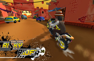 Téléchargement gratuit de Risky Rider 3D (Motor Bike Racing Game / Games) pour iPhone, iPad et iPod.