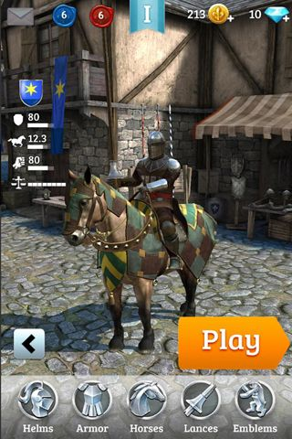 Free Rival knights download for iPhone, iPad and iPod.