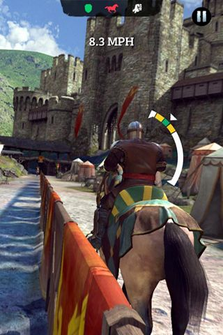 Screenshots of the Rival knights game for iPhone, iPad or iPod.