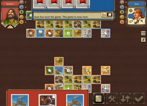 Screenshots vom Spiel Rivals for Catan für iPhone, iPad oder iPod.