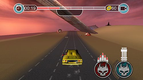 Screenshots of the Road madness game for iPhone, iPad or iPod.
