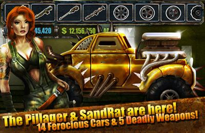 Скачать Road Warrior Multiplayer Racing на iPhone бесплатно
