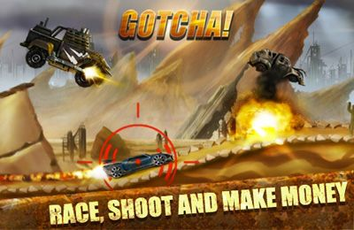 Screenshots vom Spiel Road Warrior Multiplayer Racing für iPhone, iPad oder iPod.