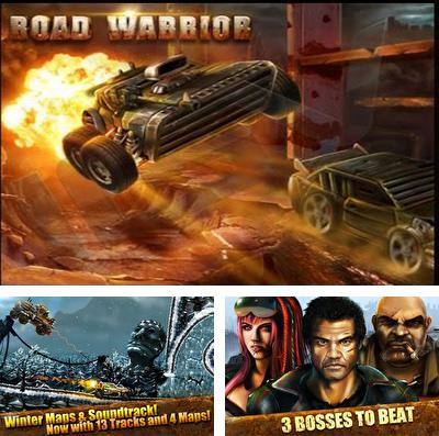 En plus du jeu L'Attaque chevaleresque: OMG pour iPhone, iPad ou iPod, vous pouvez aussi télécharger gratuitement Le Guerrier de la Route:la Course Multijoueurs, Road Warrior Multiplayer Racing.