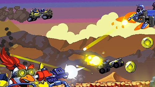 Capturas de pantalla del juego Road warriors para iPhone, iPad o iPod.