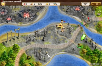 Screenshots of the Roads of Rome 3 HD game for iPhone, iPad or iPod.