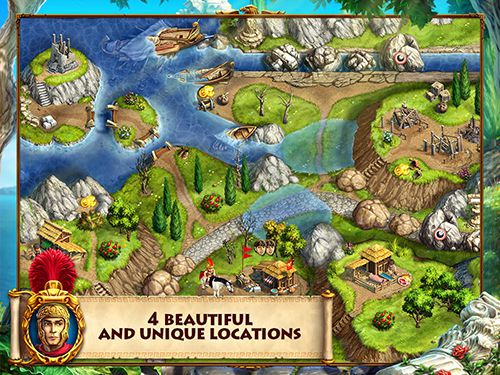 Capturas de pantalla del juego Roads of Rome: New generation para iPhone, iPad o iPod.