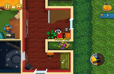 Screenshots do jogo Robbery Bob para iPhone, iPad ou iPod.