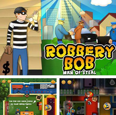 In addition to the game Zombie Street for iPhone, iPad or iPod, you can also download Robbery Bob for free.