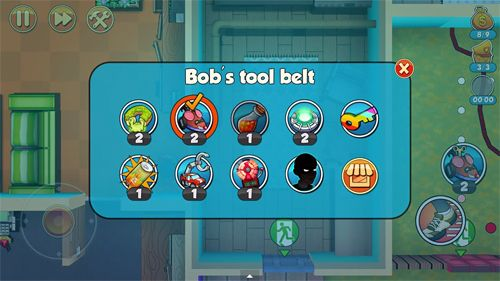 Download Robbery Bob 2: Double trouble iPhone free game.