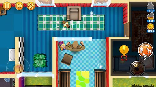Screenshots of the Robbery Bob 2: Double trouble game for iPhone, iPad or iPod.
