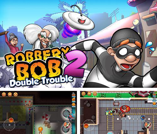 In addition to the game Swing King for iPhone, iPad or iPod, you can also download Robbery Bob 2: Double trouble for free.