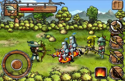 iPhone、iPad または iPod 用Robin Hood: Sherwood Legendゲームのスクリーンショット。