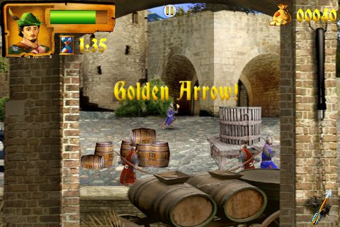 Игра Robin Hood: The return of Richard для iPhone
