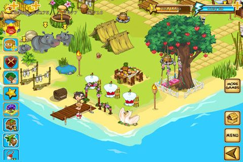 Descarga gratuita de Robinson's Island para iPhone, iPad y iPod.