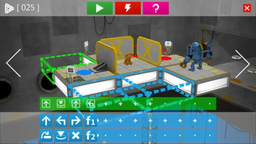 Screenshots of the Robo & Bobo game for iPhone, iPad or iPod.