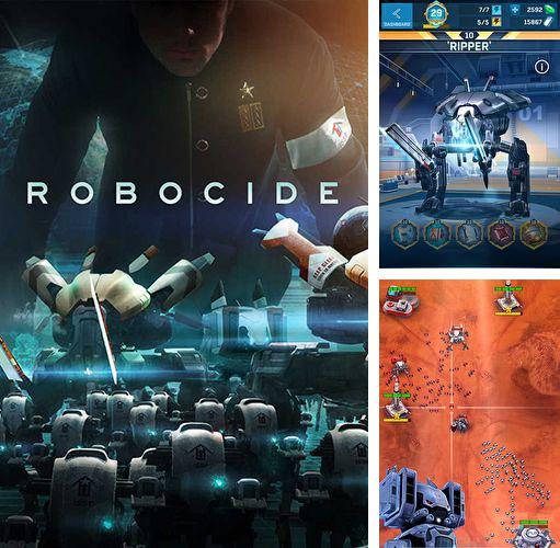 In addition to the game Blaster Tank for iPhone, iPad or iPod, you can also download Robocide for free.