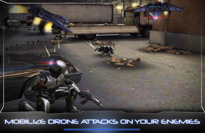 Capturas de pantalla del juego RoboCop para iPhone, iPad o iPod.