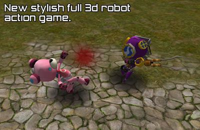 Capturas de pantalla del juego Robot Battle para iPhone, iPad o iPod.
