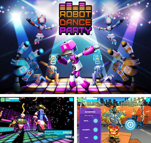 In addition to the game Dungeon rushers for iPhone, iPad or iPod, you can also download Robot dance party for free.