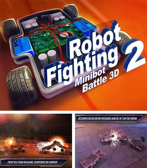 In addition to the game Great little war game for iPhone, iPad or iPod, you can also download Robot fighting 2 for free.