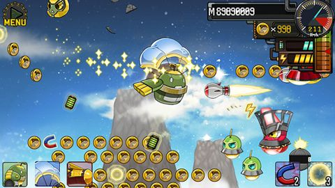 Download Robot fly iPhone free game.
