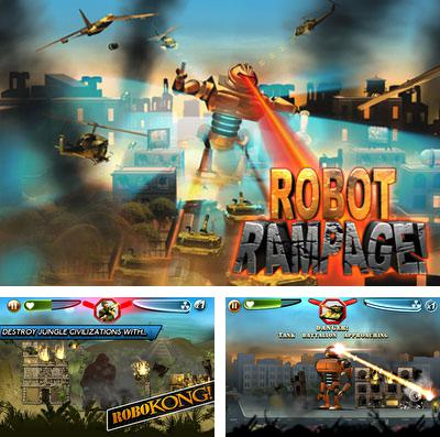 In addition to the game Ice defence for iPhone, iPad or iPod, you can also download Robot Rampage for free.