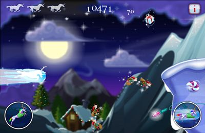 Скачать Robot Unicorn Attack Christmas Edition на iPhone бесплатно