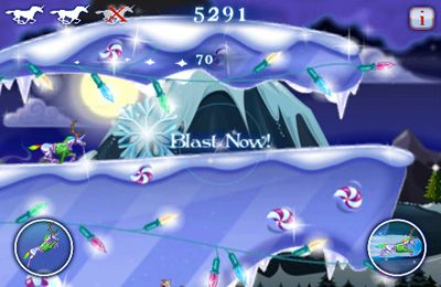Kostenloser Download von Robot Unicorn Attack Christmas Edition für iPhone, iPad und iPod.