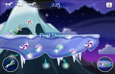 Игра Robot Unicorn Attack Christmas Edition для iPhone