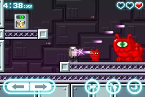 Descarga gratuita de Robot wants kitty para iPhone, iPad y iPod.