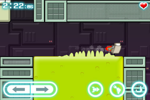 Capturas de pantalla del juego Robot wants kitty para iPhone, iPad o iPod.