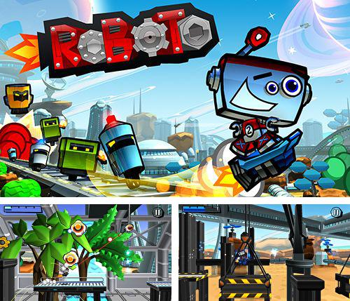 In addition to the game Planet of cubes for iPhone, iPad or iPod, you can also download Roboto for free.