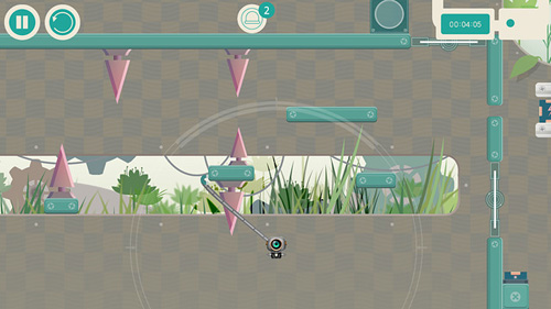 Screenshots of the Robototics game for iPhone, iPad or iPod.