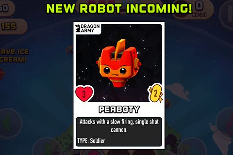 Download Robots love ice cream iPhone free game.