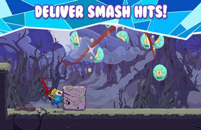 Screenshots vom Spiel Rock Bandits – Adventure Time für iPhone, iPad oder iPod.