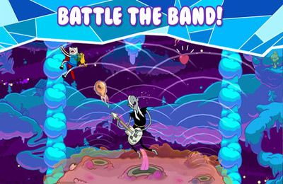 Écrans du jeu Rock Bandits – Adventure Time pour iPhone, iPad ou iPod.