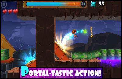 Download Rock Runners iPhone free game.