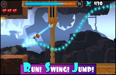 Capturas de pantalla del juego Rock Runners para iPhone, iPad o iPod.