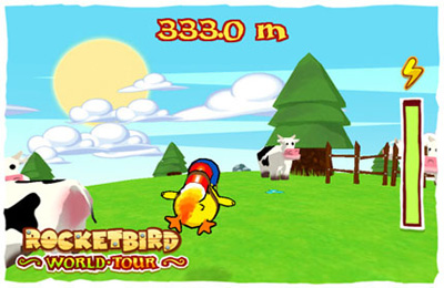 Kostenloser Download von Rocket Bird World Tour für iPhone, iPad und iPod.