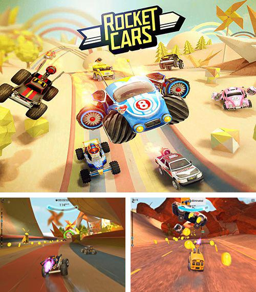 In addition to the game Legacy of discord: Furious wings for iPhone, iPad or iPod, you can also download Rocket cars for free.