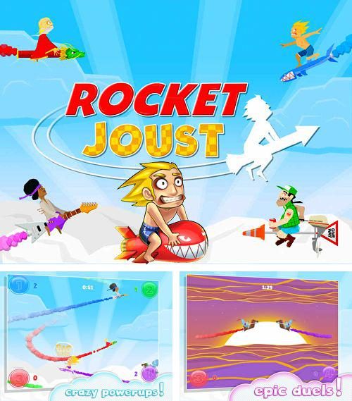 In addition to the game Doodle Wars 3: The Last Battle for iPhone, iPad or iPod, you can also download Rocket joust for free.