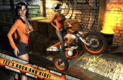 Screenshots of the Rock(s) Rider game for iPhone, iPad or iPod.