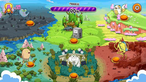 iPhone、iPad および iPod 用のRockstars of Ooo: Adventure time rhythm gameの無料ダウンロード。