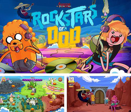 In addition to the game Teenage mutant ninja turtles: Brothers unite for iPhone, iPad or iPod, you can also download Rockstars of Ooo: Adventure time rhythm game for free.