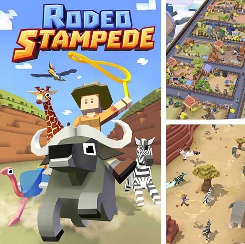 In addition to the game War of zombie: Terminator for iPhone, iPad or iPod, you can also download Rodeo: Stampede for free.